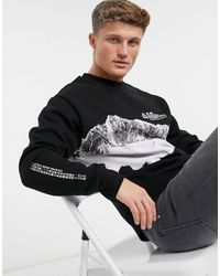 River Island Sweatshirt - Black