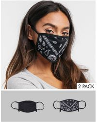 Skinnydip London Exclusive2 Pack Face Covering With Adjustable Straps - Multicolour