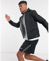 Nike Черная Куртка С Технологией Aerolayer Essentials-черный