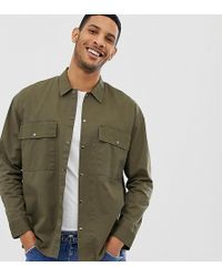 f3817129b2a90f ASOS Sleeveless Utility Jacket With Pockets In Black in Black for ...