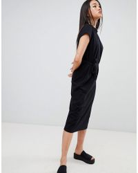 Cheap Monday - Else Shoelace Tie Dress - Lyst