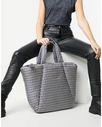 Stradivarius Padded Shopper Bag - Multicolor