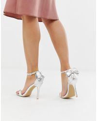 Glamorous - Heels With Bow Back - Lyst
