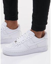 Nike Белые Кроссовки Air Force 1 '07 315122-111-белый