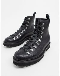 Grenson Черные Походные Ботинки Brady-черный