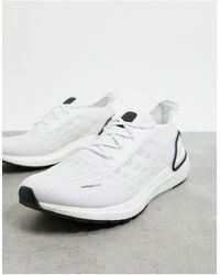 adidas Бело-голубо-черные Кроссовки Ultraboost S.rdy-белый