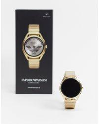 Emporio Armani Смарт-часы Matteo Art5027-золотой - Металлик