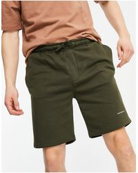 Good For Nothing Jersey Shorts - Green