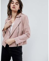 Muubaa - Healey Leather Biker Jacket - Lyst