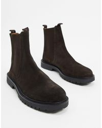 H by Hudson Chelsea Boots - Brown