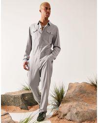 ASOS Mono gris claro estilo worker - Multicolor