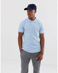 Jack Wills – Aldgrove – Himmelblaues Polohemd mit Logo