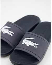 Lacoste - Croco - Slippers - Lyst