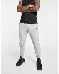 Reebok Training Essential Fleece joggers - Grey