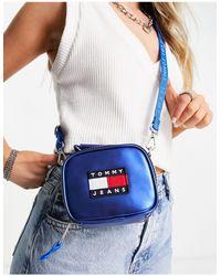 Tommy Hilfiger Heritage - Minitasje Met Logo - Blauw