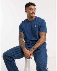 adidas Originals - Синяя Футболка -голубой - Lyst