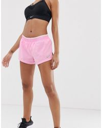 Nike 3 Inch Shorts In Pink