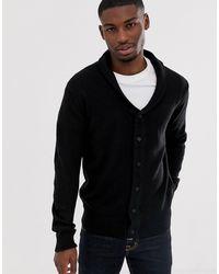 French Connection Shawl Collar Chunky Cardigan - Black