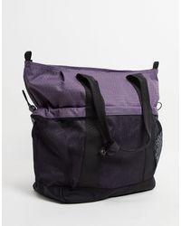 Carhartt WIP Bolso tote violeta Spey - Morado