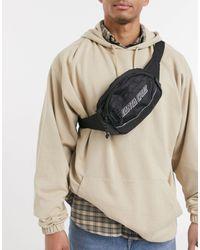 Santa Cruz Classic Strip Bum Bag - Black