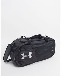 Under Armour Petate en negro Undeniable
