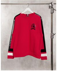Tommy Hilfiger Collections Vintage Sport Sweatshirt - Red