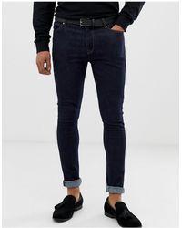ASOS Jeans super skinny indaco - Blu