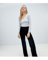 1d64a7fdd167 ASOS Textured Beach Harem Pants Two-piece in Gray - Lyst