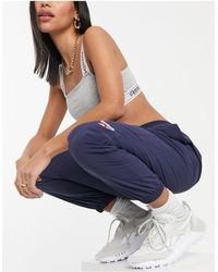 Reebok Classics Vector Cuffed Sweatpants - Blue