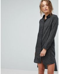 Bolongaro Trevor - Stripe Shirt Dress - Lyst