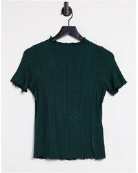 Object Sancha Lettuce Edge T-shirt - Green