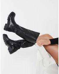Vagabond Kenova Chunky Knee High Boot - Black