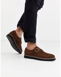 Truffle Collection Monk Shoe - Brown