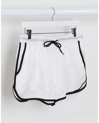 ASOS Runner Swim Shorts - White