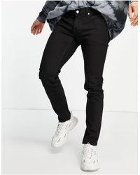 Wesc Alessandro Skinny Fit Denim Jeans - Black