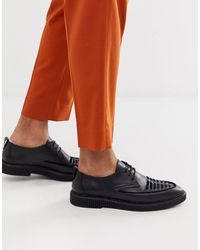 House Of Hounds Cooper - Creepers - Daim noir