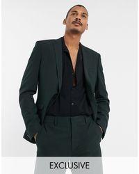 Heart & Dagger Suit Jacket - Green