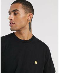 Carhartt WIP - T-shirt chase nera - Lyst