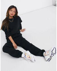 ASOS Tracksuit Oversized Sweat / Oversized jogger - Black