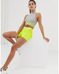 Nike Nike Pro Training 3 Inch Shorts In Lime - Green
