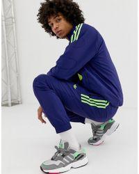 adidas Originals Joggers de chándal Flame Strike - Azul