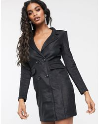 Ivyrevel Robe courte style blazer - Noir