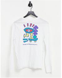 Element Larimer Long Sleeve T-shirt - White