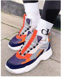 Calvin Klein Кроссовки Темно-синих Оттенков Jeans-многоцветный