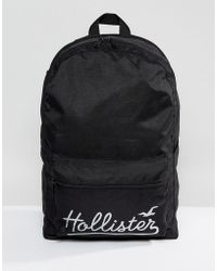 Hollister - Core Canvas Backpack - Lyst