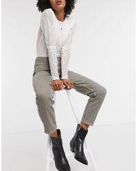 Vila Straight Leg Jeans - Green