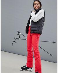 Roxy - Creek Trousers In Red - Lyst