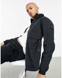Marshall Artist Удлиненная Куртка Черного Цвета Из Технологичной Ткани Acier-черный Цвет