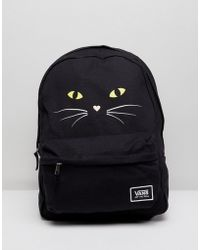 Vans - Realm Classic Backpack With Cat Print - Lyst