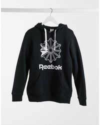 Reebok Big Logo Hoodie - Black